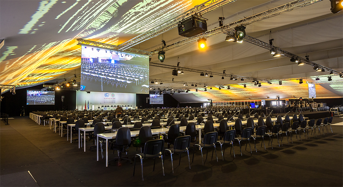 Mobilier GL events - COP 22